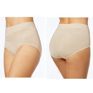NWT!Warner's  Seamless underwear M/6 Beige
